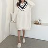 Very Soft V-Neck Sleep Dress - 극세사
