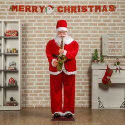 크리스마스 180cm 산타클로스 색소폰 대형 산타