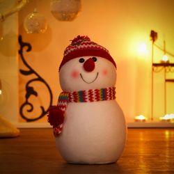 크리스마스 닮은꼴 눈사람 가족 장식 인형세트 장식