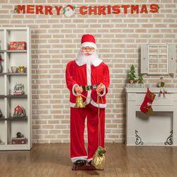 크리스마스 180cm 선물주머니 대형 산타클로스