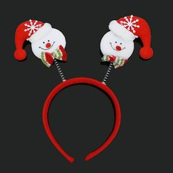크리스마스 눈사람머리띠 23cm 코스프레