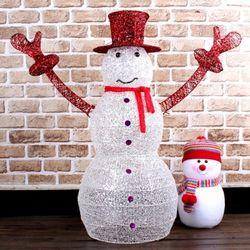 크리스마스 125cm 대형 눈사람 장식 대형 인형