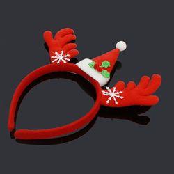 크리스마스 사슴 뿔 머리띠 21cm 소품 산타분장