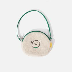 SWSW X MARY ROUND BAG Ecru-Green