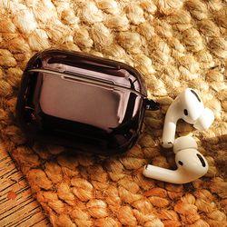PULU 에어팟프로 메탈 실리콘 케이스 철가루방지스티커