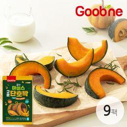 [달콤 촉촉 영양간식] 굽네 국내산 아이스 구운 단호박 9팩