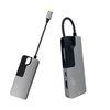 위즈플랫 6in1 알루미늄 USB C타입 허브 CH06