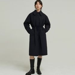 CLASSIC QUILTING COAT (NAVY)