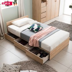 [에넥스 ENNEE]메종 일반형 침대(SS)-매트리스 별도