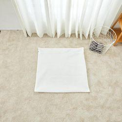 무형광 이중매쉬 사각세탁망 90x90cm 이불용