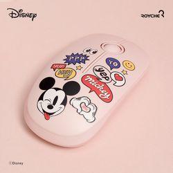로이체 디즈니 미키마우스 무소음 무선 마우스