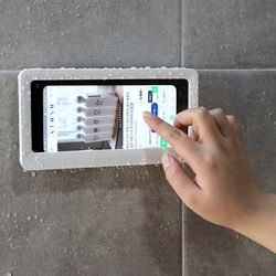 [특가] 아토소 만능 휴대폰 방수 욕실 거치대 핸드폰 무타공 젠다이