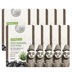 과일나라 제주자연의 알로에 마스크 10매