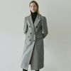 JENNY DOUBLE LONG COAT [GRAY]