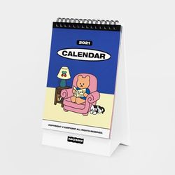 Earpearp 2021 Desk Calendar