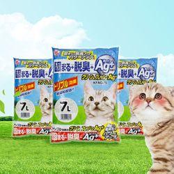 아이리스 클린앤후레쉬 고양이 모래 7L KFAG-70