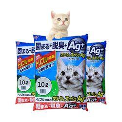 아이리스 클린앤후레쉬 고양이 모래 8L KFAG-80