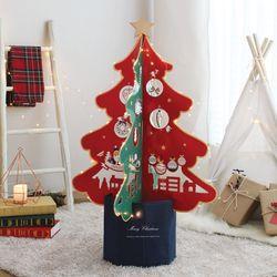 크리스마스 멀티트리풀세트 장식 소품 전구 트리 나무