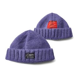 20 WOOL SHORT BEANIE PURPLE