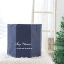 크리스마스 가리개박스 네이비 트리 장식 소품