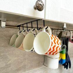 [1+1] 모던 틈새 행거 주방 모자정리 속옷걸이 철제 수납