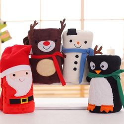 산타 담요 따뜻한 무릎담요 크리스마스 다용도 담요