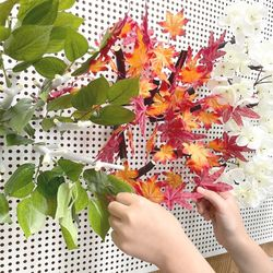 나뭇잎 단풍 벚꽃 모양 마그넷 나뭇가지 장식