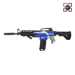 퀵샷 고스트 M4 안전 자동 다트건 어린이총