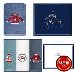 크리스마스 윈터데이 항균 150g 3매 선물세트+쇼핑백