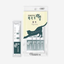고양이 애묘 영양 간식 페리또얌 50g 참치 10g 5개입