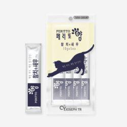 고양이 영양 간식 페리또얌 50g 참치 새우 10g 5개입