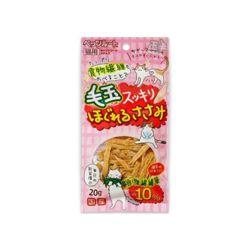 고양이맛좋은간식 펫츠루트 촉촉한 치킨 사사미 20g