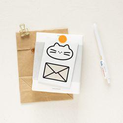 히어데어 봉투 – S (4장 세트)