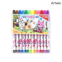 3500 애니멀캠프 티티 12색 싸인펜