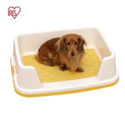 아이리스 커버형 강아지화장실 배변판 옐로우 TRT-500