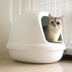 아이리스 고양이 화장실 풀 커버 PNE-500-F