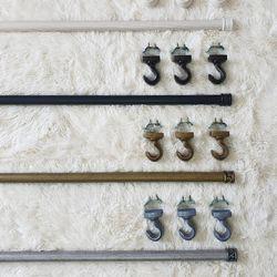 이너스 포인트 커튼봉 25파이 2단 최장 240cm