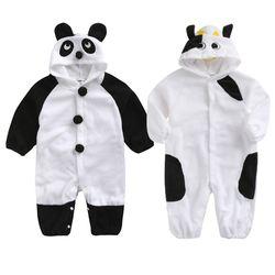 팬더랑 카우랑 포근 우주복(80-95) 303706