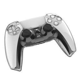플스5 컨트롤러 PS5 듀얼센스 보호 투명 커버 케이스