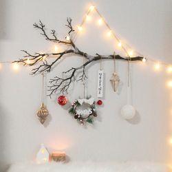 크리스마스 벽트리 레브리스 트리 전구 나무 장식 소품