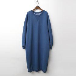 Gimo Twin Long Dress - 기모안감