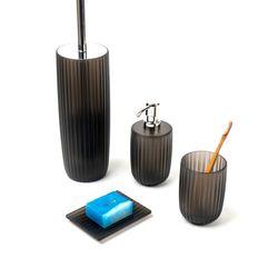 독일 라미나 욕실용기 4종세트 블랙