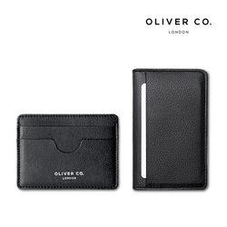OLIVER CO. LONDON 슬림카드홀더콤팩트월렛