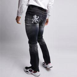 그린바나나 남자 데님 진 청바지 워싱블랙 black crest jeans