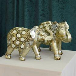 데일리데코 링기 코끼리 커플 인테리어 소품