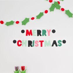 유니크 크리스마스 가랜드
