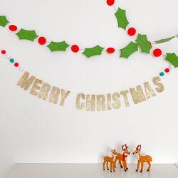 반짝반짝 퐁퐁 크리스마스 가랜드