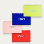 2021년 달력 루카랩 플랜더-탁상용 캘린더 플래너 4컬러-선택