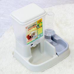 아이리스 강아지 반자동 급수기 급식기 화이트 JQ-350