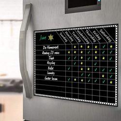 냉장고 자석 주간 스케줄표 블랙보드 ACC-5807 필카